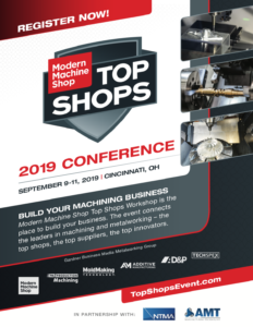 Modern Machine Shop Top Shops Conference 2019