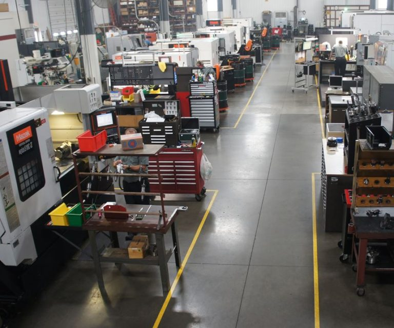 Northwood Industries shop floor