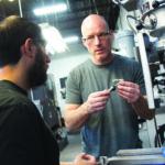 toolmaker Darin Sewell