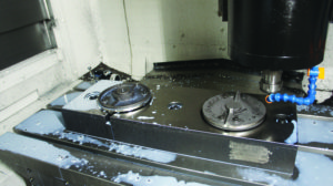 machining shredder blade